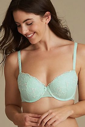 The everywear push up balcony bra