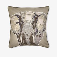 An elephant cushion