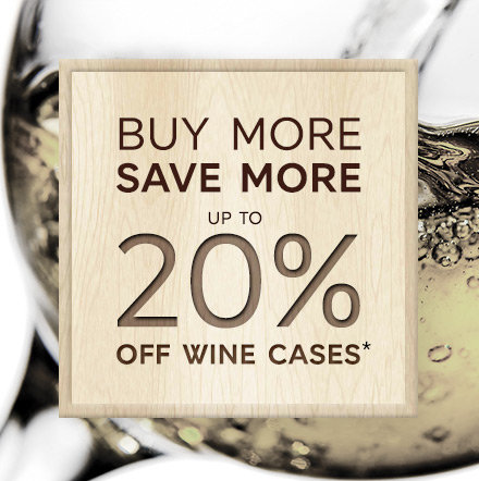 Buy more save more wine