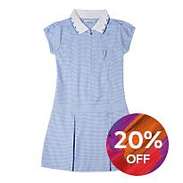 M&S summer school uniform gingham dress
