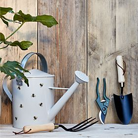 Selection of garden tools