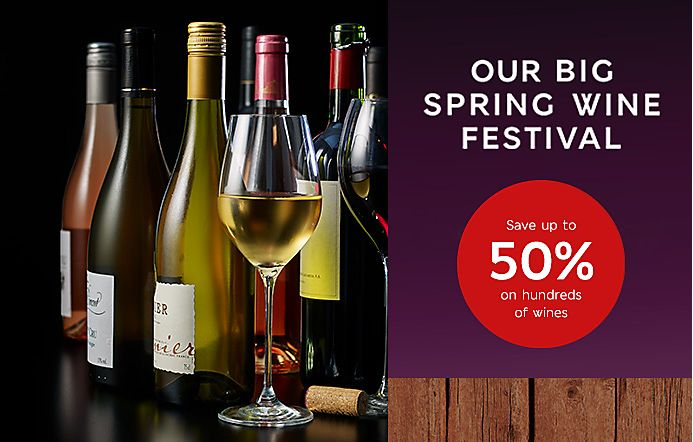 Our Big Spring Wine Festival