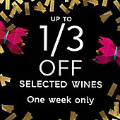Christmas Crackers - up to 1/3 off selected wines
