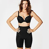 Black Firm Control Waist & Thigh Sculpt™ No VPL Cincher