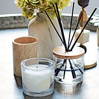 Candles and scent diffusers